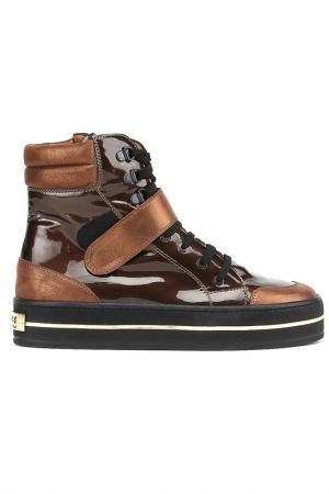 Ботинки GIEMME. Цвет: бронзовый