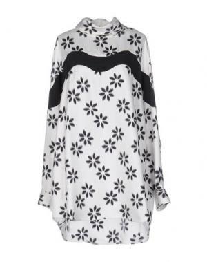 Короткое платье ISSA. Цвет: белый