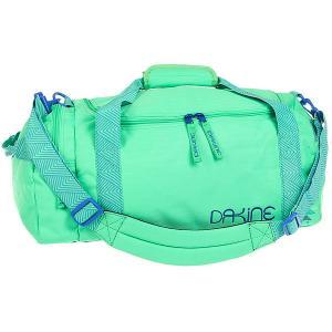 Сумка спортивная женская  Limeade Dakine. Цвет: зеленый