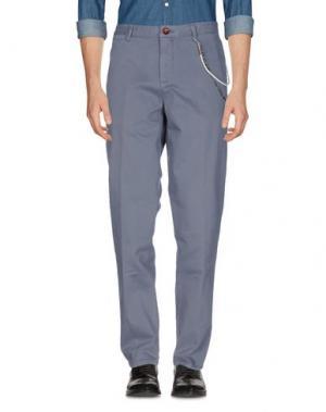 Повседневные брюки WEB. Цвет: серый