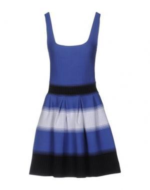 Короткое платье VICEDOMINI. Цвет: фиолетовый