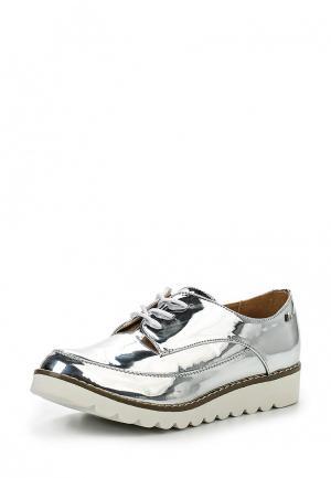 Ботинки Mariamare. Цвет: серебряный