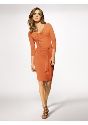 Платье Heine. Цвет: оранжевый