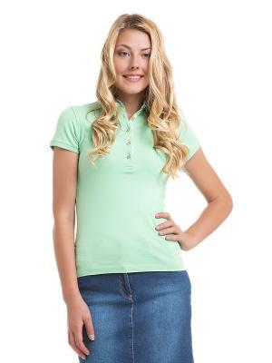 Футболка-поло U.S. Polo Assn.. Цвет: зеленый, светло-зеленый