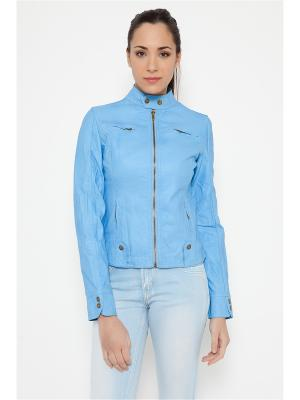 Куртка TANTRA. Цвет: голубой