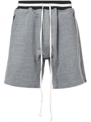 Striped waistband shorts Fear Of God. Цвет: серый