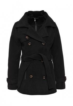 Пальто Stella Morgan. Цвет: черный