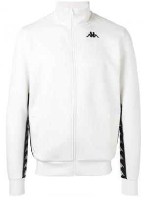 Спортивная куртка с принтом Kappa Gosha Rubchinskiy. Цвет: белый