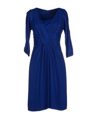 Короткое платье KAREN WALKER. Цвет: ярко-синий