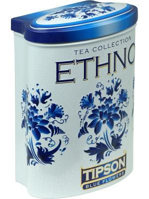 Чай Tipson Этно-Голубые цветы 100 36 ж/б. Цвет: голубой