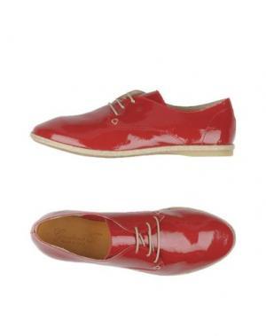 Обувь на шнурках GIORDANA F.. Цвет: красный