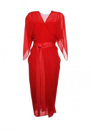 Платье Voielle. Цвет: красный
