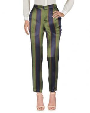 Повседневные брюки SOUVENIR. Цвет: зеленый-милитари