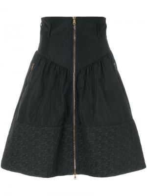 Спортивная юбка Tomas Maier. Цвет: чёрный