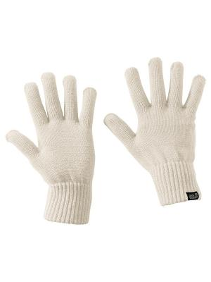 Перчатки MILTON GLOVE Jack Wolfskin. Цвет: белый