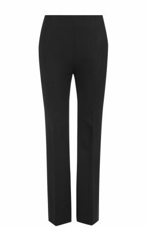 Шерстяные расклешенные брюки со стрелками Marni. Цвет: черный