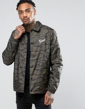 Carhartt Спортивная куртка WIP Strike. Цвет: зеленый