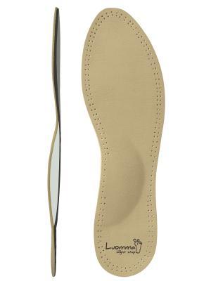 Стельки ортопедические мягкие, ультратонкие, для всех типов обуви Luomma. Цвет: бежевый