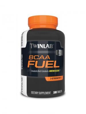 Аминокислоты Twinlab BCAA  Fuel 180 tab. Цвет: черный