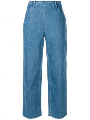 Укороченные джинсы Eloi Vanessa Seward. Цвет: синий