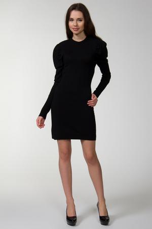 Платье джерси Bird. Цвет: черный