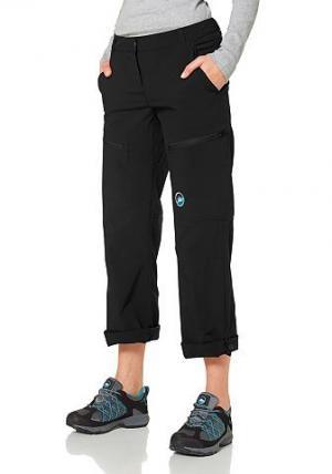 Треккинговые брюки Polarino. Цвет: черный