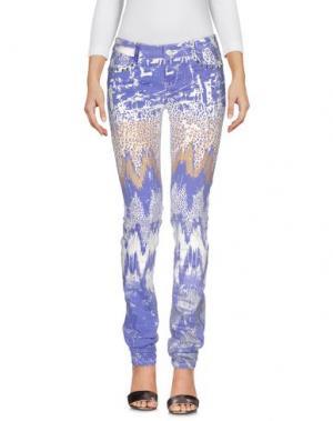 Джинсовые брюки CUSTO BARCELONA. Цвет: фиолетовый