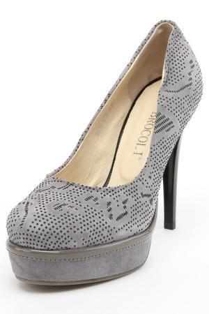 Туфли Brocoli. Цвет: серый