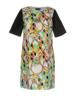 Короткое платье GIULIA ROSITANI. Цвет: белый