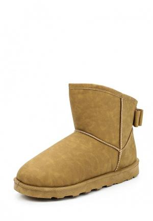 Полусапоги Max Shoes. Цвет: бежевый