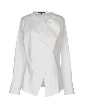 Pубашка WALTER VOULAZ. Цвет: белый