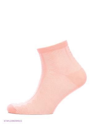 Носки, комплект 5 пар Alla Buone. Цвет: коралловый