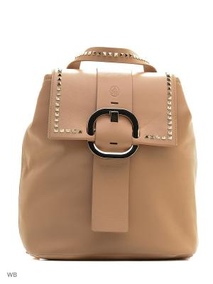 Рюкзак ASH. Цвет: бежевый