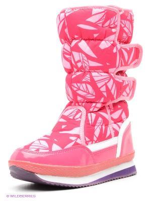 Дутики Baon. Цвет: розовый
