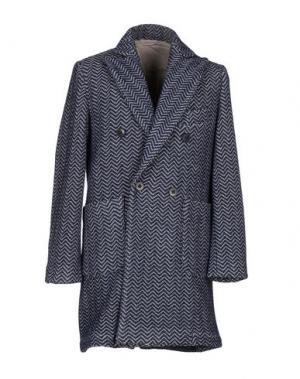 Пальто MC RITCHIE. Цвет: темно-синий