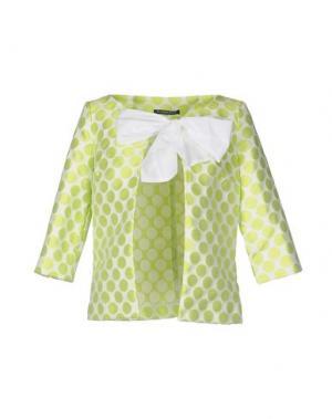 Пиджак LA CAMICIA BIANCA. Цвет: кислотно-зеленый