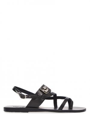 Сандалии Ancient Greek Sandals X Peter Pilotto. Цвет: черный