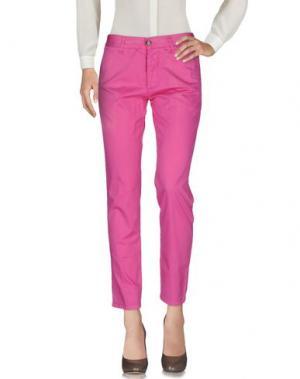 Повседневные брюки BASICON. Цвет: фуксия