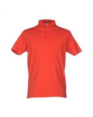 Поло ALFONSO RAY. Цвет: оранжевый