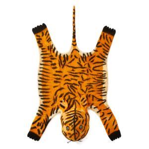 Ковер в форме шкуры тигра Saskia AM.PM.. Цвет: оранжевый