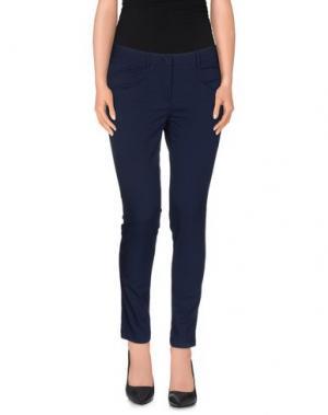 Повседневные брюки YOON. Цвет: синий
