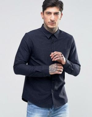 Another Influence Рубашка в крапинку. Цвет: темно-синий