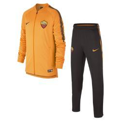Футбольный костюм для школьников A.S. Roma Dry Squad Nike. Цвет: оранжевый