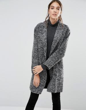 Closet London Свободное пальто. Цвет: серый
