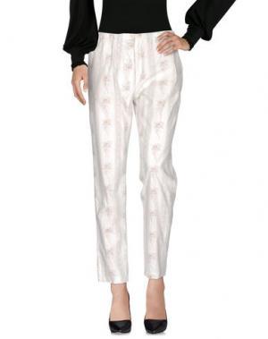 Повседневные брюки LOCAL APPAREL. Цвет: белый
