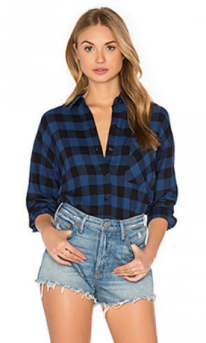 Рубашка jackson Rails. Цвет: синий
