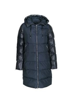 Пальто Snow Guard. Цвет: темно-синий