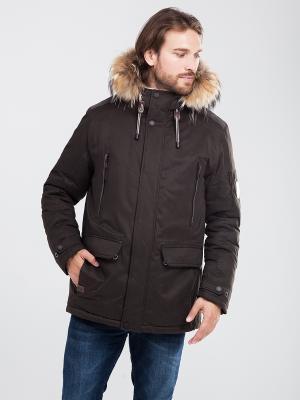 Куртка Malinardi. Цвет: хаки