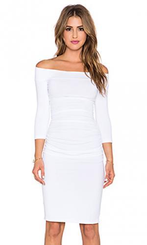 Платье lydia Susana Monaco. Цвет: белый