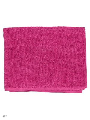 Полотенце PUMA TR Towel. Цвет: малиновый